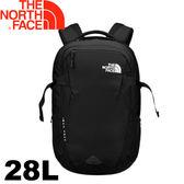 【The North Face 美國 28L 15吋電腦背包《黑》】2RD7/電腦背包/登山背包/後背包★滿額送