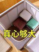 收納箱 透明塑料收納整理箱多功能手提特大號儲物箱玩具衣物收納盒 美物居家館JD