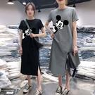 牛奶絲俏皮卡通印花洋裝 獨具衣格 J3706