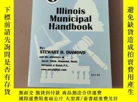 二手書博民逛書店2001-2003Lllinois罕見Municipal handbookY422512