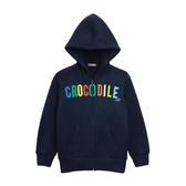 『小鱷魚童裝』logo刷毛連帽外套(08號~20號)552701