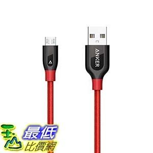 [106美國直購] Anker AK-A8142091 充電線 傳輸線 PowerLine+ Micro USB (3ft) The Premium and Durable Cable