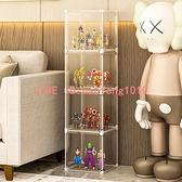 手辦收納盒子 盲盒收納展示架 透明泡泡瑪特娃娃玩偶樂高展示柜寢室【白嶼家居】