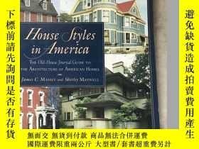 二手書博民逛書店House罕見styles in America 美國房屋風格Y464728 maessy penguin s