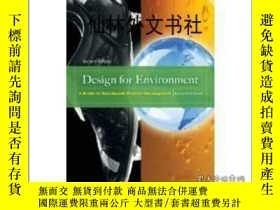 二手書博民逛書店【罕見】Design for EnvironmentY27248