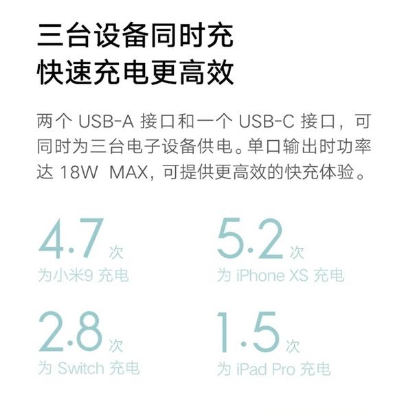 【世明國際】小米行動電源三代 20000 小米移動電源3 兩萬 20000mAh 雙向快充版 可充筆電