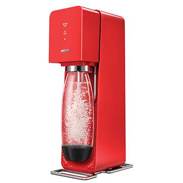 英國Sodastream-Source Plastic氣泡水機(紅)