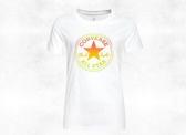 CONVERSE-Ombre CP Crew Tee 女款白色休閒運動短T-NO.10017088-A01