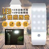 【當日出貨】LED人體感應燈 光線感應器 小夜燈 走廊燈 櫥櫃燈 床頭燈 玄關燈【A25】
