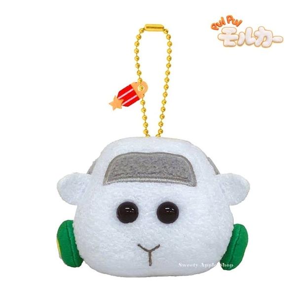 【SAS】日本限定 PUI PUI 天竺鼠車車 Shiromo 珠鍊吊飾 玩偶娃娃 