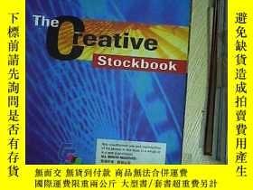 二手書博民逛書店THE罕見CREATIVE STOCKBOOK 編號06Y203