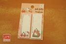 Hello Kitty×toripicals 凱蒂貓 熱帶水果鳥 便利貼 重點貼 KRT-215488