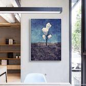 壁畫現代玄關豎版大幅掛畫辦公室風景油畫抽象裝飾畫客廳大尺寸壁畫WY 聖誕禮物熱銷款