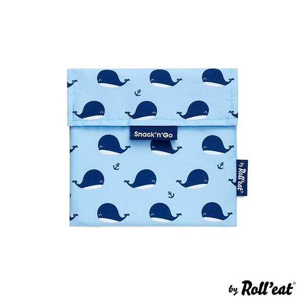 吃貨零食袋/悠遊小藍鯨【Roll'eat西班牙食物袋】