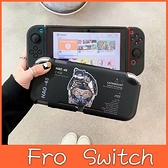 Switch保護殼 機械貓 Switch彩繪保護殼 Switch保護套 一體成形 分體可拆 Switch Lite