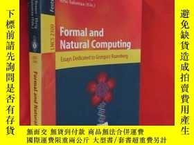 二手書博民逛書店Formal罕見and Natural Computing: E
