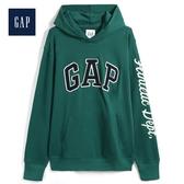 Gap男裝 活力亮色徽標LOGO連帽衫513863-香脂樹