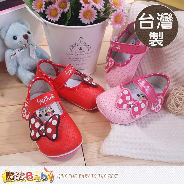 台灣製專櫃款米妮正版寶寶鞋(紅.粉) 魔法Baby