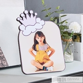 兒童創意水晶相框定制烤瓷擺台洗照片做成相框幼兒畢業照寶寶照 夏季新品
