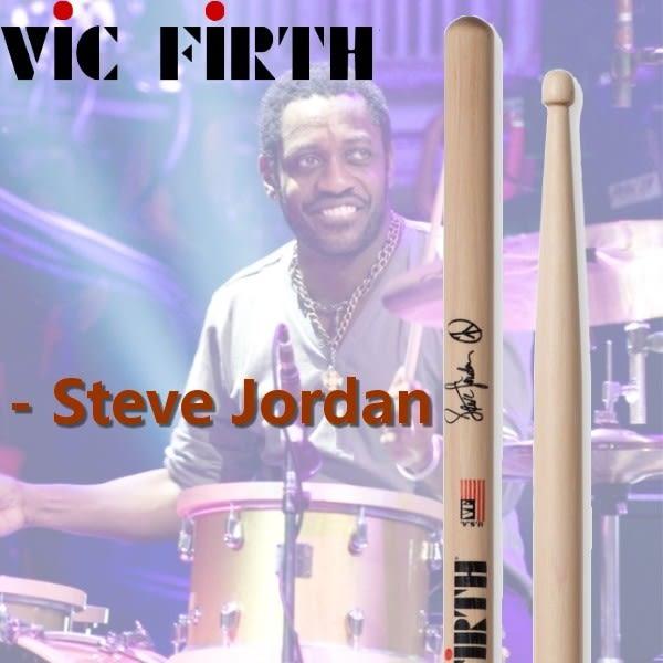 【非凡樂器】Vic Firth Steve Jordan簽名鼓棒 - SJOR