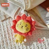 玩偶 鑰匙扣小掛件11CM毛絨玩偶飾品書包掛件配飾 4色