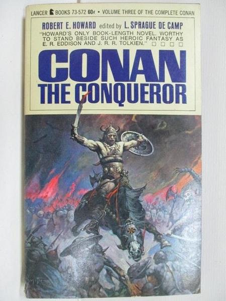 【書寶二手書T6/原文小說_B8A】Conan the Conqueror(3)