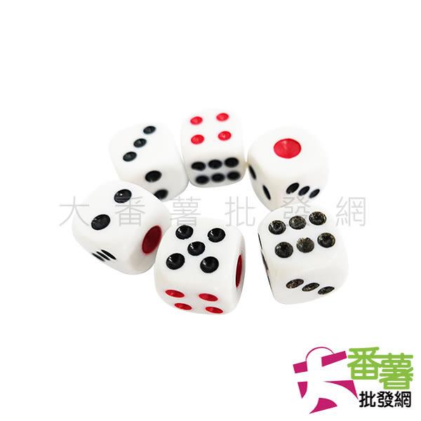 6入骰子/色子-13mm [ 大番薯批發網 ]