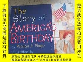 二手書博民逛書店the罕見story of america s birthday