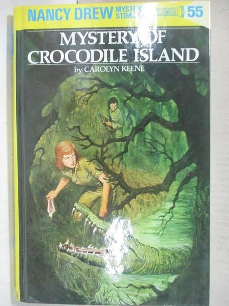 【書寶二手書T1/原文小說_CTS】Mystery of Crocodile Island_Carolyn Keene