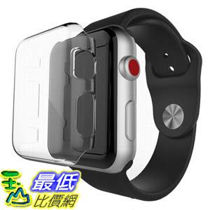 [106美國直購] 保護殼 GBSELL Ultra-Slim Clear PC Hard Protective Case Cover For Apple Watch Series3