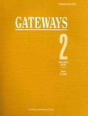 二手書博民逛書店 《Integrated English: Gateways: 2: Teacher s Book》 R2Y ISBN:0194346153│OUP Oxford