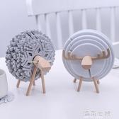 北歐ins綿羊創意居家隔熱墊茶杯墊防燙滑餐桌辦公桌面裝飾品擺件 海角七號