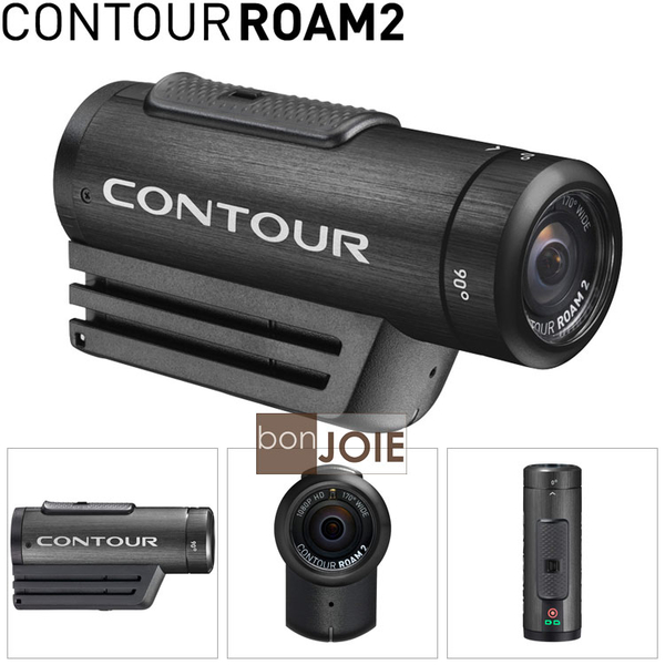 ::bonJOIE:: 美國進口 Contour ROAM2 Video Camera 防水極限運動攝錄影機 Full HD 1080P 衝浪滑板單車跳傘越野
