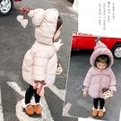 女寶寶棉襖冬裝免運新款女童裝加絨嬰兒棉衣韓版小童洋氣棉服外套