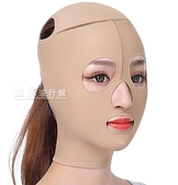 瘦臉帶小V臉神器瘦臉繃帶塑形頭套提拉緊致面雕全臉部吸加壓彈力面罩 快速出貨