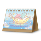正版 2022年 三麗鷗系列 迷你精巧桌曆 迷你桌曆 小桌曆 行事曆 雙子星款 COCOS A2022