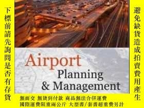 二手書博民逛書店Airport罕見Planning And Management
