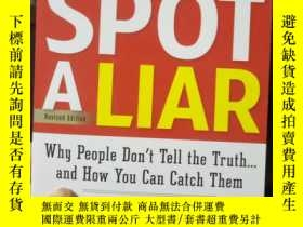 二手書博民逛書店How罕見to Spot a Liar, Revised Edi