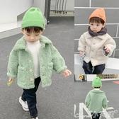 兒童外套秋冬裝新款加絨加厚男童上衣韓版寶寶洋氣潮嬰兒衣服 小天使
