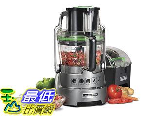 [107美國直購] 切菜機食物調理機 Hamilton Beach Professional Dicing Food Processor with 14-Cup BPA-Free Bowl (70825)