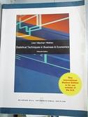 【書寶二手書T4/大學商學_JM7】Statistical techniques in business & e