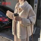 羊羔毛絨外套女潮ins復古港味2020年秋冬季新款韓版寬鬆百搭女士