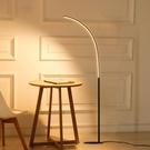 落地燈 落地燈北歐創意客廳臥室書房LED簡約現代可調光釣魚閱讀落地台燈
