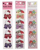 【卡漫城】 Hello Kitty 蝴蝶結 裝飾 貼紙 雙子星 美樂蒂 任選三張㊣版 Twin Stars 禮物/款 L1