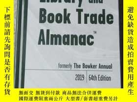 二手書博民逛書店Library罕見and Book Trade Almanac