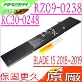 雷蛇 RC30-0248 電池(原廠)-Razer Blade 15 GTX 1070 ,15 GTX 1060 ,RTX 2070 Max-Q ,RZ09-02486,RZ09-02385,RZ09-02386