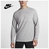 NIKE MEDALIST DRY -男款慢跑運動健身排汗長袖上衣- NO.891425027