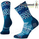 Smartwool SW001119-781 冰河藍 女 PhD Out 輕量減震高筒襪 美麗諾羊毛襪/機能排汗襪/戶外健行襪/雪襪