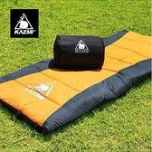 丹大戶外【KAZMI】可拼接保暖睡袋 登山活動/可拼接/防風/抗水/保暖/透氣 K5T3M001