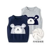 兒童針織背心 嬰兒馬甲春秋兒童男寶寶套頭針織毛衣【免運直出】